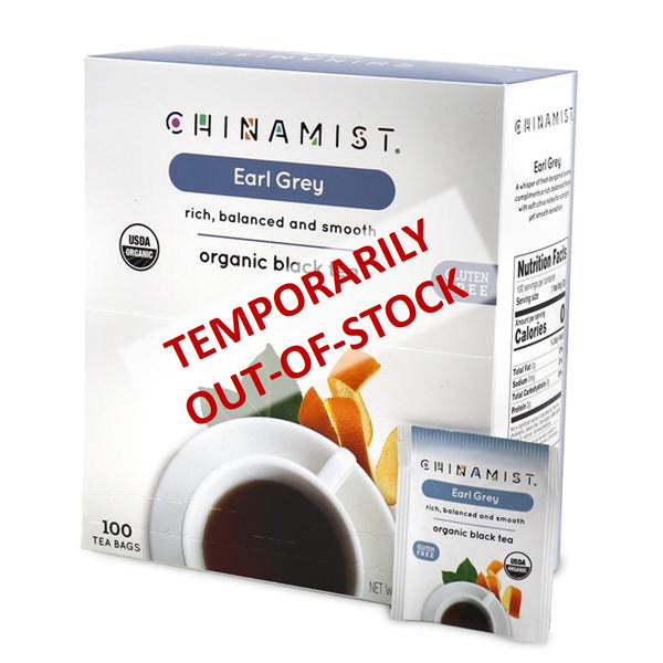 Out-of-Stock: Earl Grey Organic Black Tea (100-ct.)