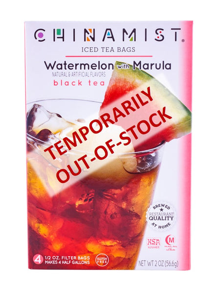 Out-of-Stock - Watermelon with Marula Black Iced Tea Filter Bags