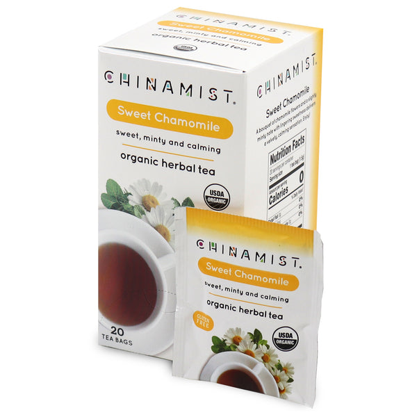 Sweet Chamomile Organic Herbal Tea (20-ct.)
