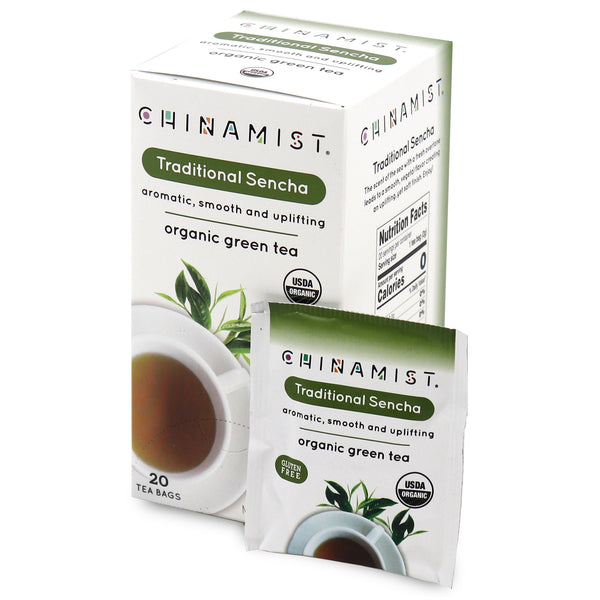 Traditional Sencha Organic Green Tea (20-ct.) [Previously: Best China Green]