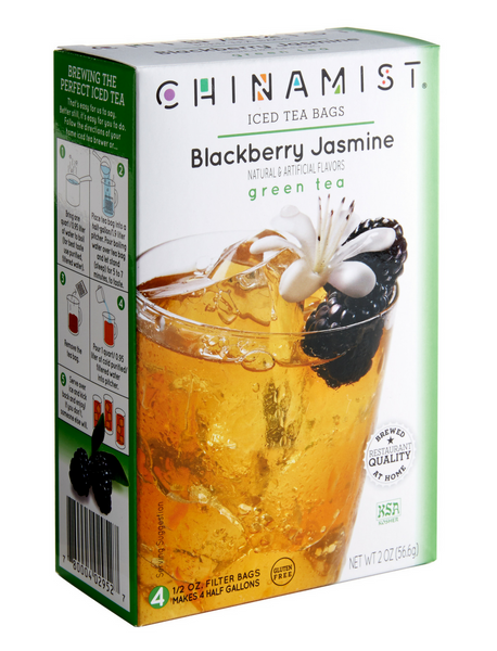 Blackberry Jasmine Iced Green Tea Filter Bags
