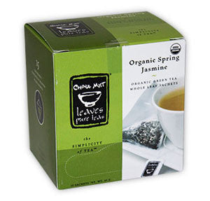 Organic Spring Jasmine Green Tea Sachet(15-ct. box)