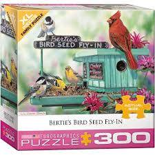 BERTIE'S BIRD SEED FLY-IN (300 PC)(XL PIECES)