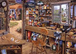 DAD'S SHED (500PC)