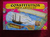 CONSTITUTION SHIP IN A BOTTLE