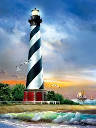 CAPE HATTERAS LIGHTHOUSE  (500PC)