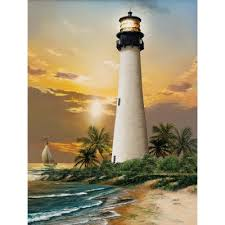 CAPE FLORIDA LIGHTHOUSE  (500PC)