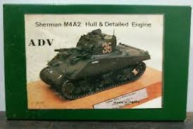 1:35 SHERMAN M4A2 HULL & DETAILED ENGINE