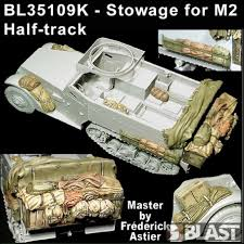 1:35 STOWAGE FOR M2 HALF-TRACK