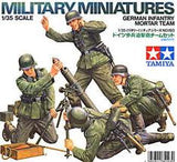 1:35 GERMAN INFANTRY MORTAR TEAM SET