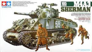 1:35 M4A3 SHERMAN 105MM