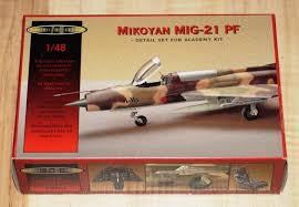 1:48 MIKOYAN MIG-21 PF DETAIL SET FOR ACADEMY KIT