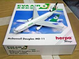 1:500 EVA AIR MCDONNELL DOPUGLAS MD-11