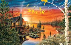 AUTUMN EVENING (550PC)