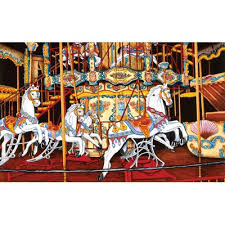 CAROUSEL AT THE FAIR (550PC)