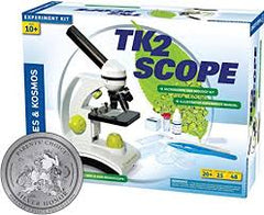 TK2 SCOPE MICROSCOPE & BIOLOGY KIT