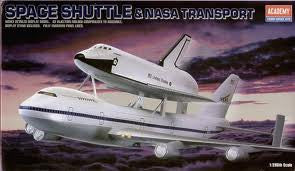 1:288 SPACE SHUTTLE/747 TRANSPORT