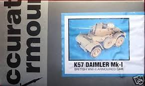 1:35 DAIMLER MK-1 BRITISH WW-II ARMOURED CAR