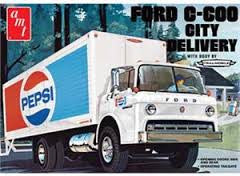 1:25 FORD C-600 CITY DELIVERY