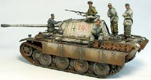 1:48 GERMAN TANK CREW WWII (WINTER)(5 FIGS)