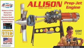 1:10 ALLISON PROP-JET ENGINE