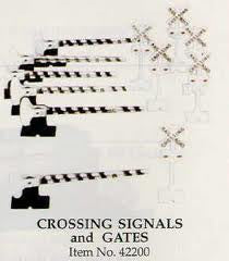 CROSSING SIGNALS & GATE