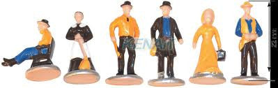 OLD WEST FIGURES