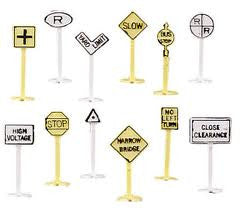 RAILROAD & STREET SIGNS
