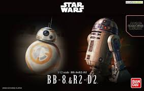 1:12 STAR WARS: BB-8 & R2-D2