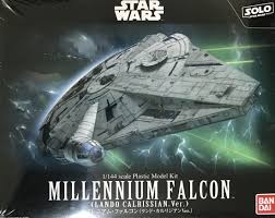 1:144 STAR WARS: MILLENNIUM FALCON (LANDO CALRISSIAN VERSION)