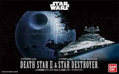1:14500 STAR WARS: DEATH STAR II & STAR DESTROYER