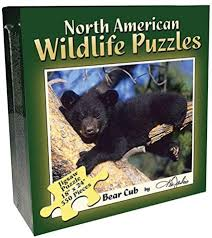 BLACK BEAR CUB (550PC)