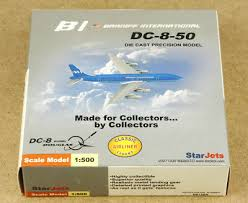 1:500 BRANIFF INTERNATIONAL DC-8-50