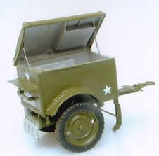 1:35 K38 SIGNAL CORPS TRAILER
