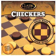 CHECKERS: WOODEN