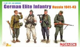 1:35 GERMAN ELITE INFANTRY RUSSIA 1941-43