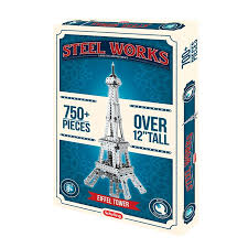 STEEL WORKS EIFFEL TOWER (+750 PCS)