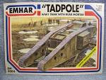 "1:35 ""TADPOLE"" WWI TANK WITH REAR MORTAR"
