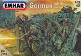 1:72 GERMAN WWI INFANTRY W/ TANK CREW