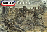 1:72 BRITISH WWI INFANTRY W/ TANK CREW
