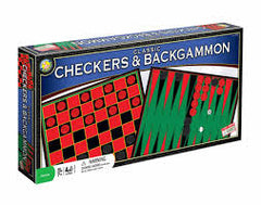 CHECKERS & BACKGAMMON