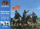 1:72 CONFEDERATE CAVALRY SET