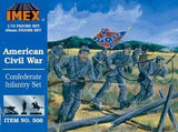 1:72 CONFEDERATE INFANTRY SET