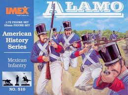 1:72 ALAMO MEXICAN INFANTRY