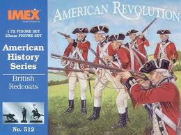 1:72 AMERICAN REVOLUTION BRITISH REDCOATS