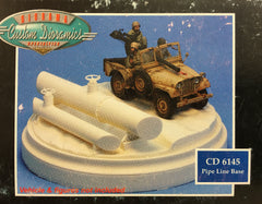 1:35 PIPE LINE BASE (VEHICLE AND FIGURES NOT INCLUDED)