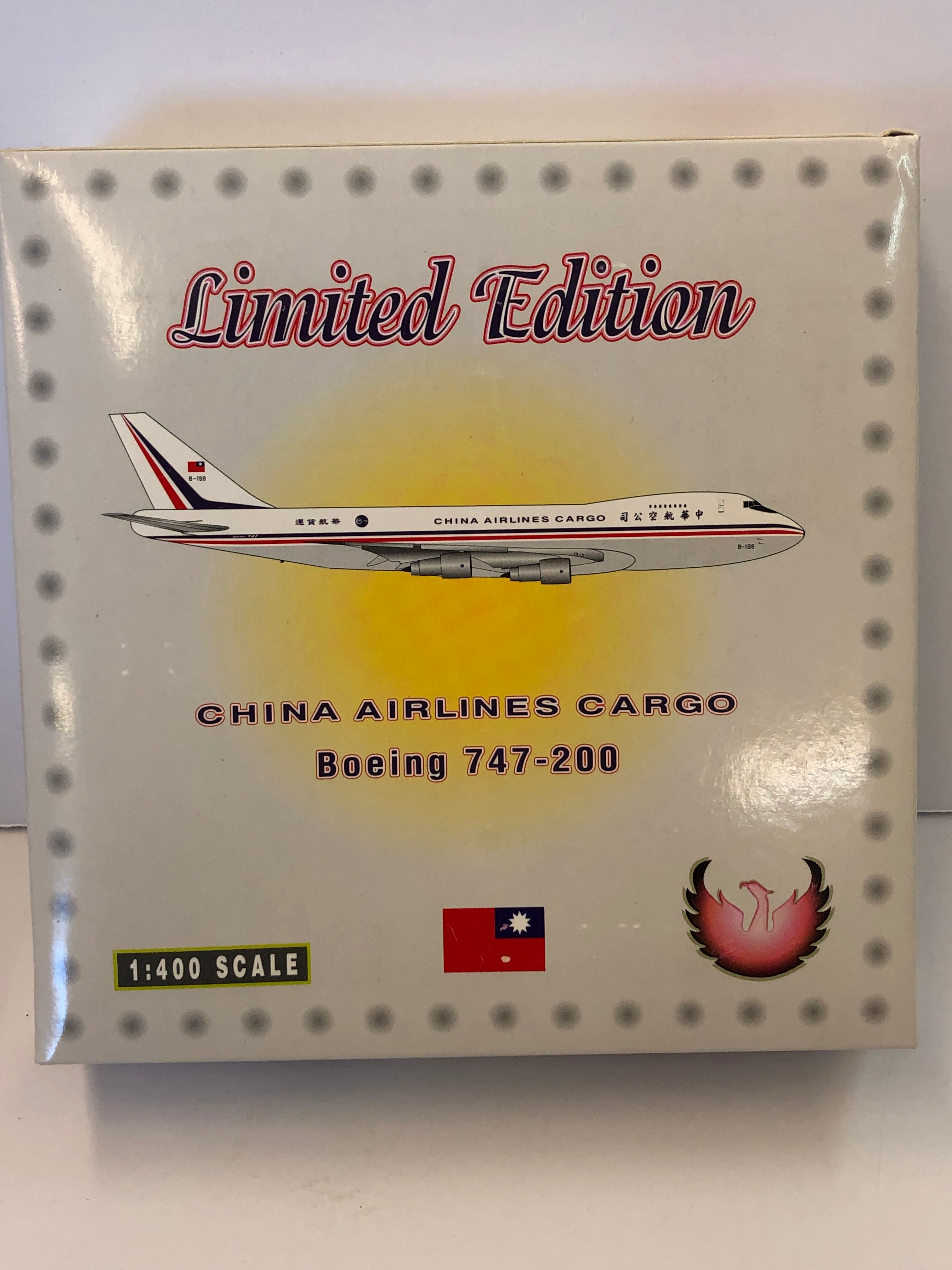 1:400 CHINA AIRLINES CARGO BOEING 747-200