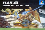 FLAK 43 GERMAN ANTI AIRCRAFT GUN