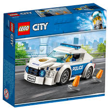 CITY: POLICE PATROL CAR