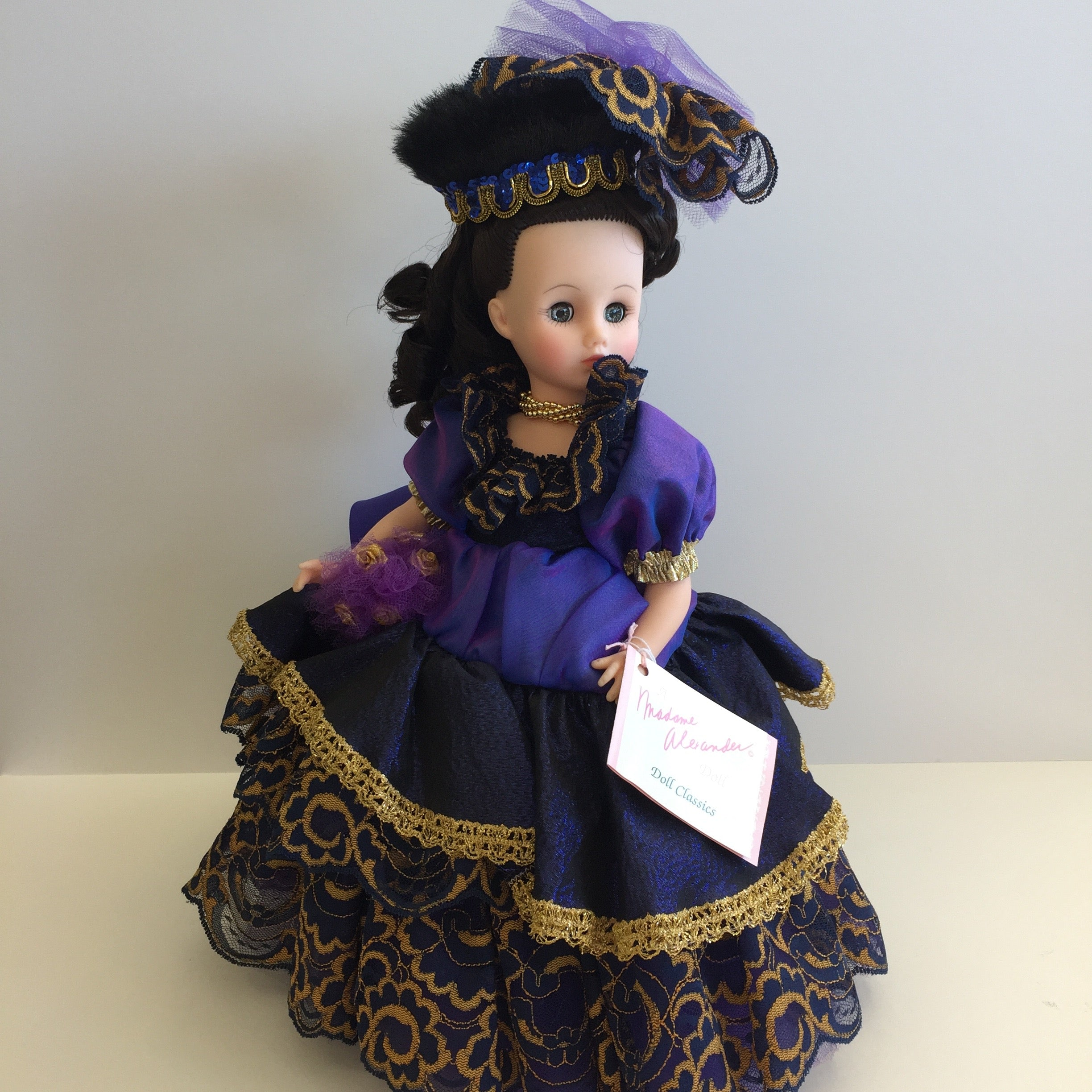 "Mint In Box 1991 Madame Alexander Collectible BLUE MOON 14"" Doll. (Retired and Very Rare)"